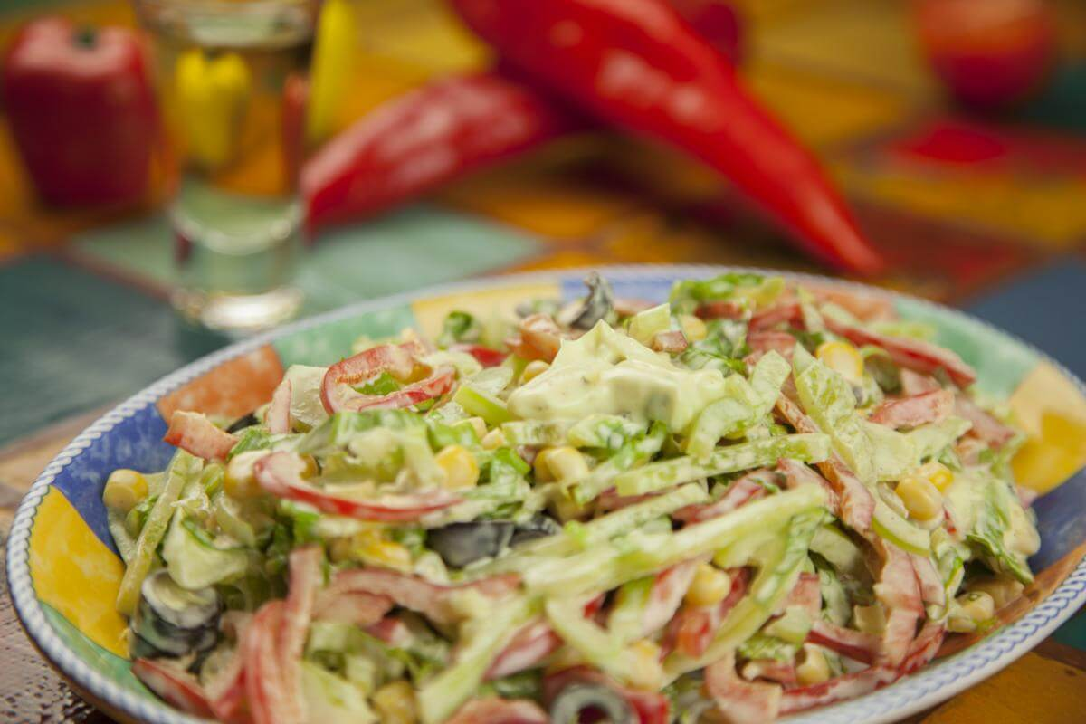 Карибский салат рецепт