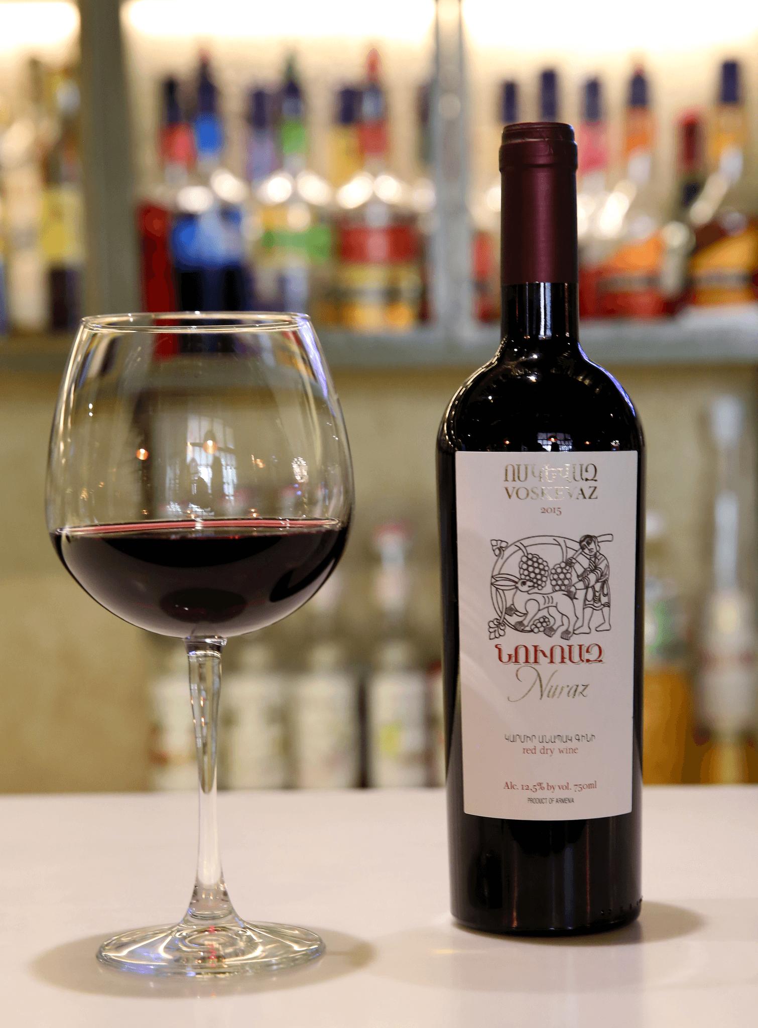 Voskevaz wine